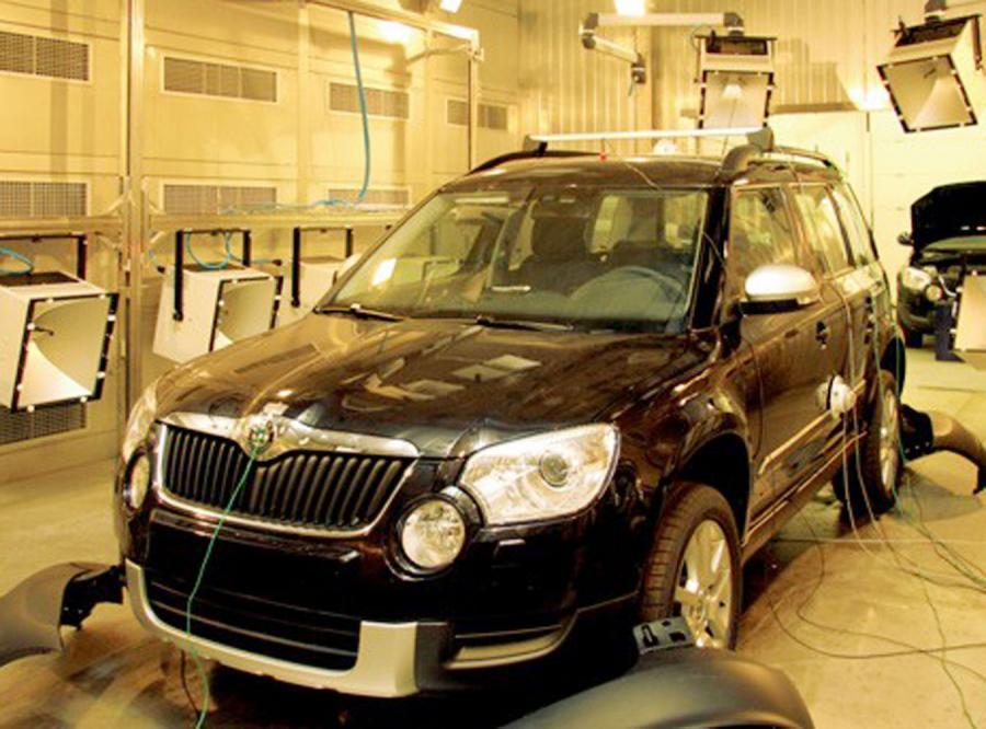 Nowa, mordercza komora do testów aut