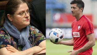 Krystyna Pawłowicz, Robert Lewandowski