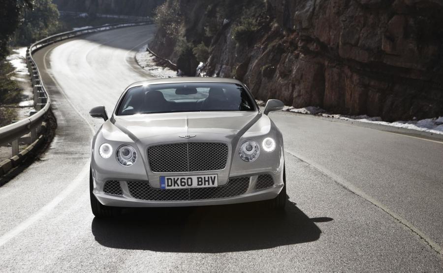 Bentley continetal GT produkowany od 2003 roku