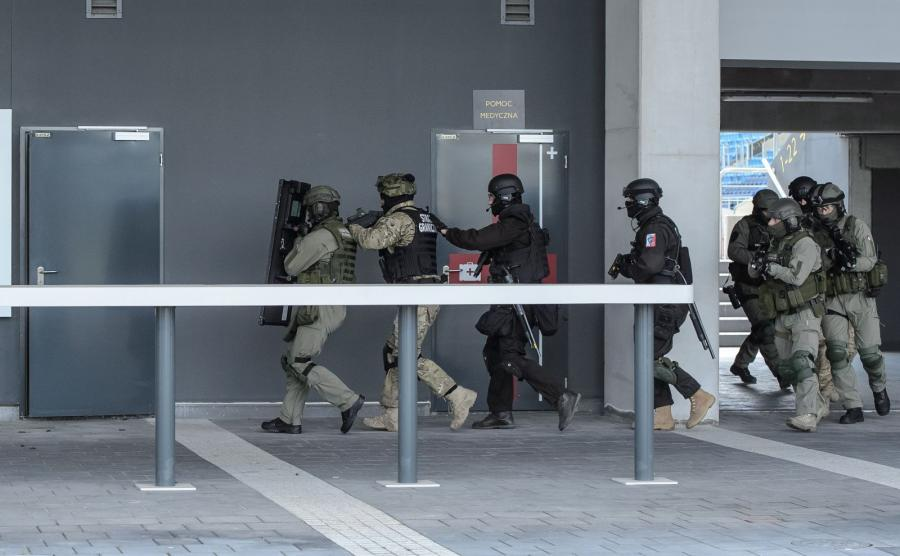 Ćwiczenia policyjne pod kryptonimem \