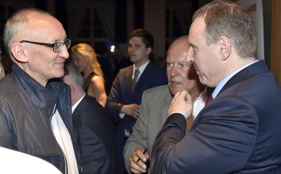 Maciej Chmiel i Jacek Kurski