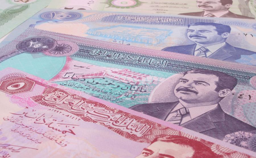 Banknoty z wizerunkiem Saddama Husajna