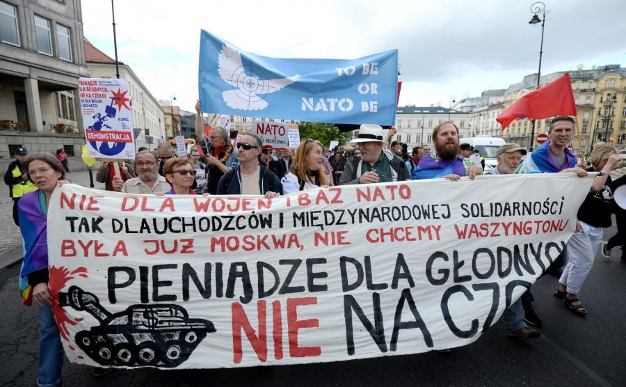Demonstracja pod hasłem \