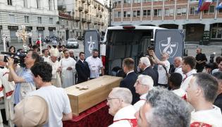 Ducato do przewozu relikwii błogosławionego  Pier Giorgio Frassati na ŚDM w Krakowie