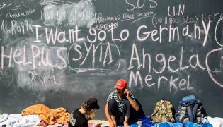 Syryjscy uchodźcy