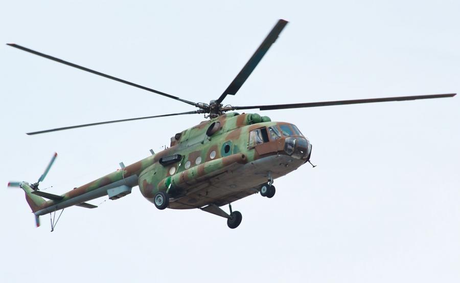 Rosysjski śmigłowiec MI-8
