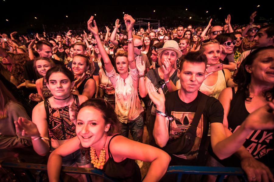 Tak się bawiła publiczność na na festiwalu Audioriver 2016 / fot. Audioriver