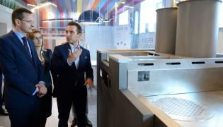 Wicepremier i minister rozwoju Mateusz Morawiecki zwiedza Kielecki Park Technologiczny w Kielcach