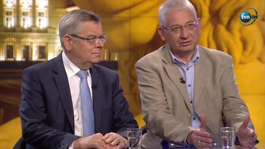 Ludwik Dorn i Tomasz Nałęcz