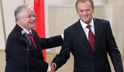 Prezydent: Dobrze się z Tuskiem uzupełniamy
