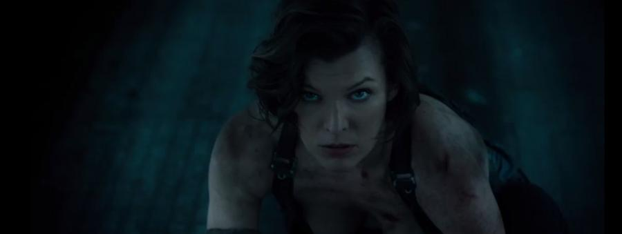 Milla w finale The Resident Evil
