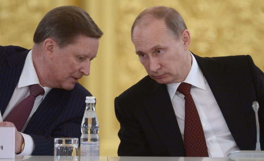 Sergiej Iwanow i Władimir Putin
