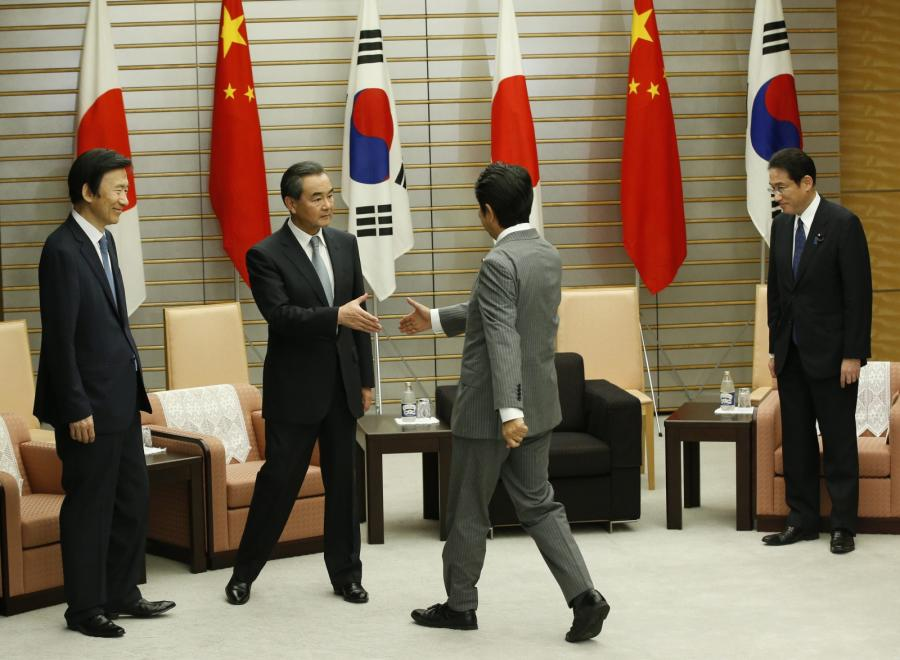 Japońsko-koreańskie spotkanie dyplomatyczne
