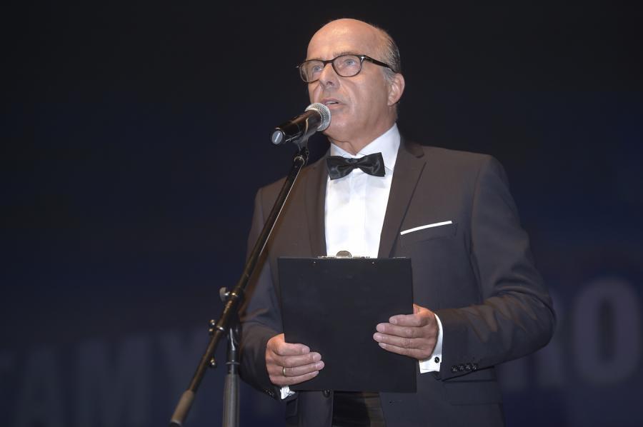 """Jan Pospieszalski na premierze """"Smoleńska"""""""