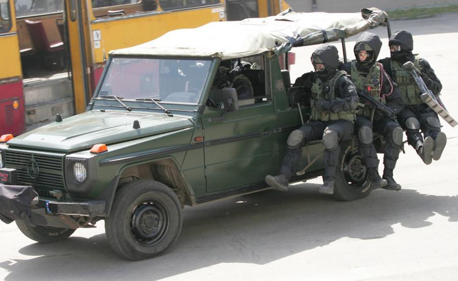 Żołnierze jednostki GROM