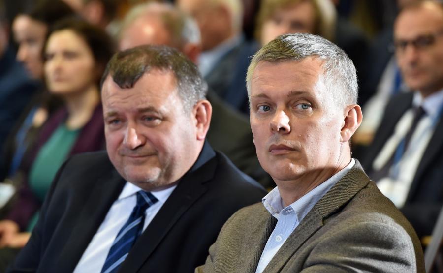 Posłowie Stanisław Gawłowski i Tomasz Siemoniak