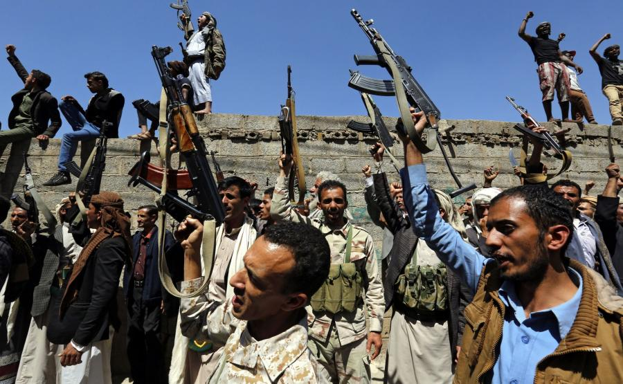 Antysaudyjska demonstracja w Jemenie