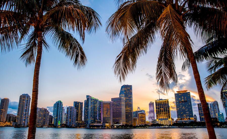 Floryda, widok na Miami