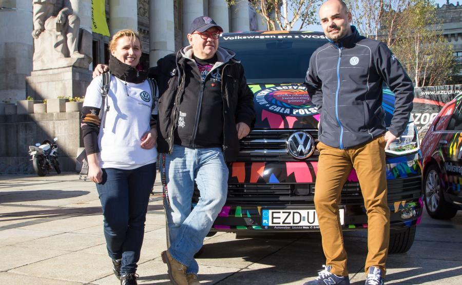 Volkswagen pomoże Jerzemu Owsiakowi rozkręcić WOŚP