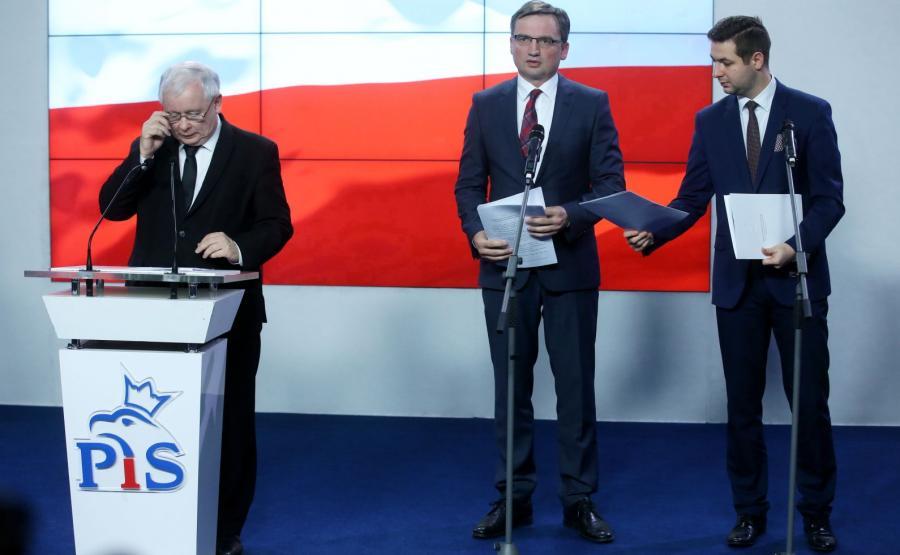 Jarosław Kaczyński, Zbigniew Ziobro, Patryk Jaki