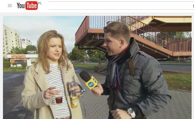 Filip Chajzer i imprezowiczka