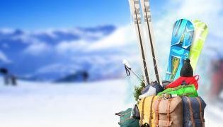 Bagaże z nartami