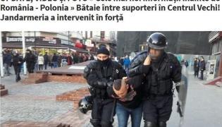 Kibice Legii i Wisły bili się w Bukareszcie