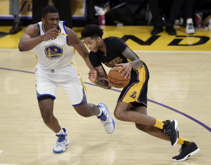 Brandon Ingram i Kevon Looney