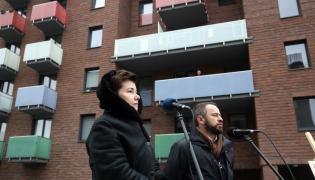 Hanna Gronkiewicz-Waltz i wiceprezydent Michał Olszewski