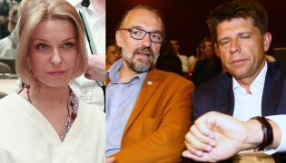 Paulina Młynarska, Mateusz Kijowski i Ryszard Petru