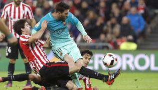 Leo Messi i Mikel San Jose