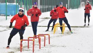 Trening piłkarzy Wisły
