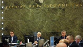 Nadzwyczajne posiedzenie KRS w Warszawie