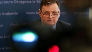 Rzecznik Prokuratury Regionalnej w Krakowie prok. Włodzimierz Krzywicki