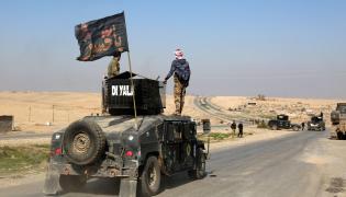 Irackie wojsko pod Mosulem