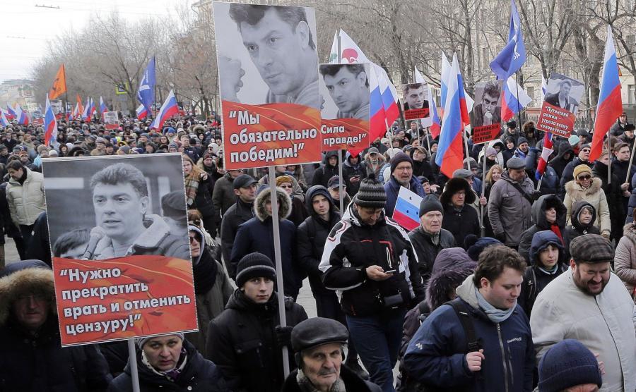 Marsz w Moskwie