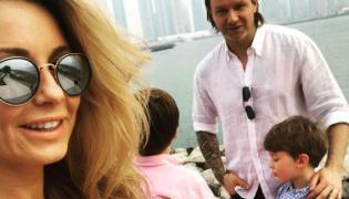 Małgorzata Rozenek i Radosław Majdan z dziećmi na wakacjach