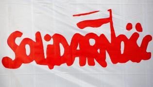 Flaga NSZZ Solidarność