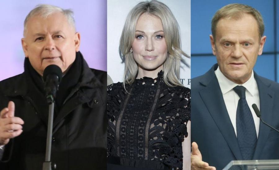 Jarosław Kaczyński, Magdalena Ogórek, Donald Tusk